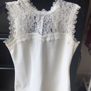 H&M • Sleeveless Shirt